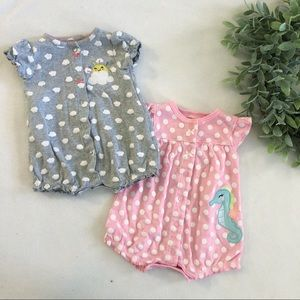 Carter's Snap Up Romper Bundle